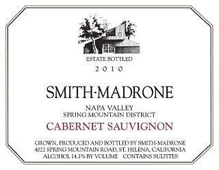 Smith-Madrone Cabernet